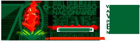 70º Congresso Nacional de Botânica Logo